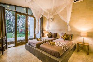 Slaapkamers Villa Melaya Bali
