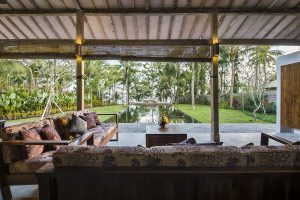 Tuin Villa Melaya Bali